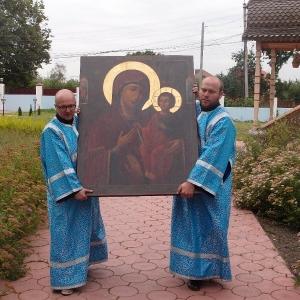 """Празднование иконы Божией Матери, именуемой """"Троеручица"""" 2012"""