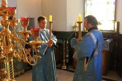 Рождество Пресвятой Богородицы 2012. Престольный праздник храма