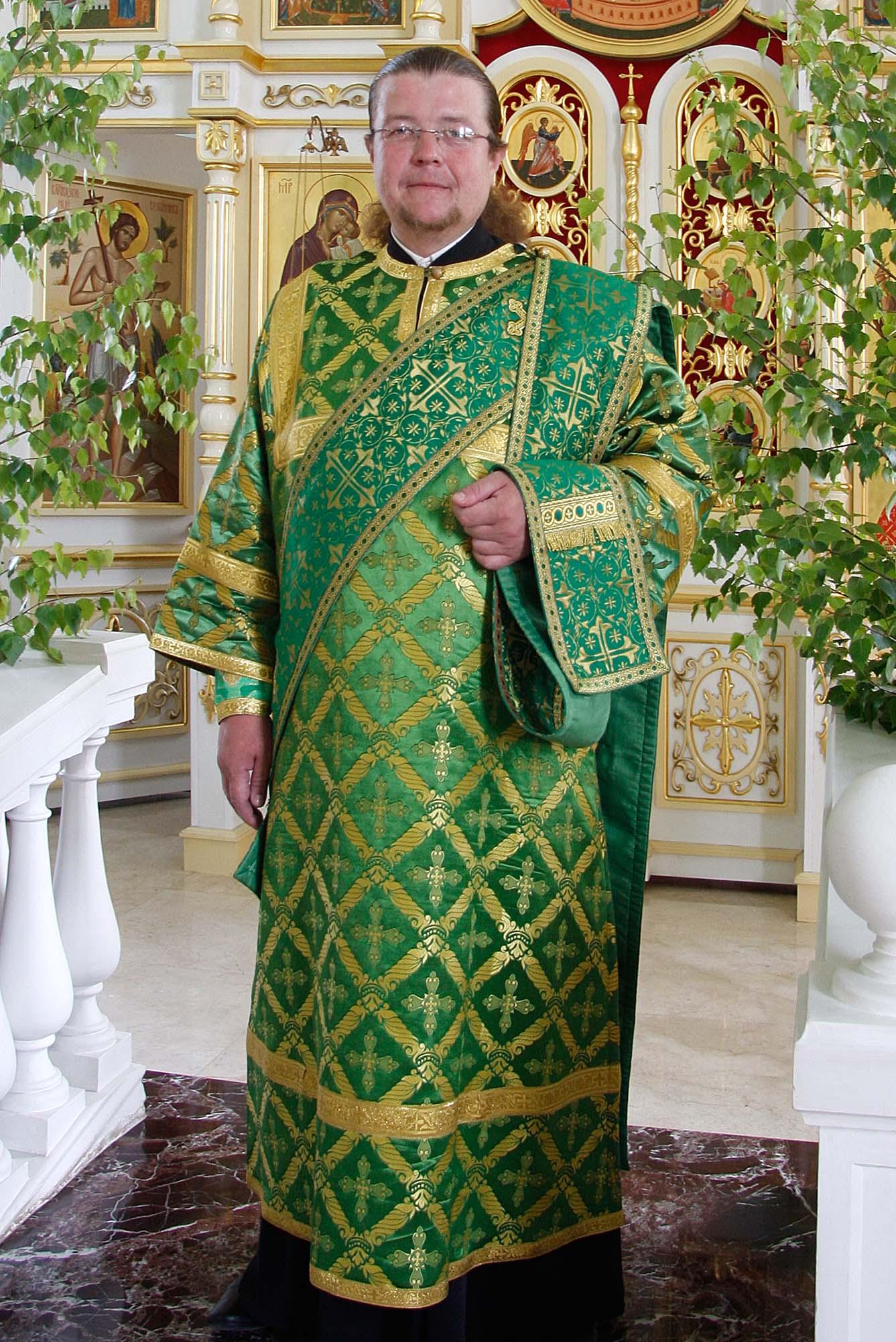 Диакон Владимир Владимирович Бобков